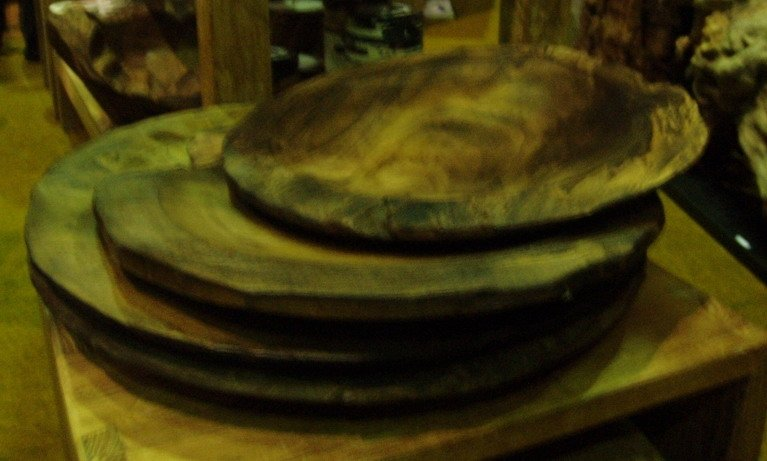 Wooden Plate Decorated Set 3