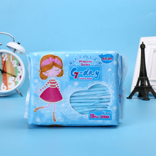 female cotton sanitary pad brands G day 100 % cotton carefree sanitary napkin