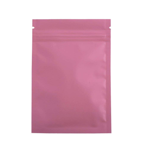 Clear Front Aluminum Mylar Foil Pouches/ Heat Sealed Zipper Plastic Wholesale Packaging Ziplock Bag Smell Proof Jerky Packet