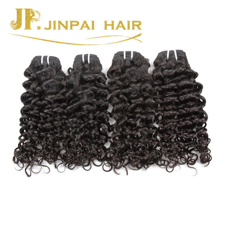 JP Hair Raw Unprocessed Virgin Jerry Curl Indian Hair Extension