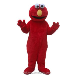 Funtoys CE adult Sesame Street Elmo cartoon mascot costumes