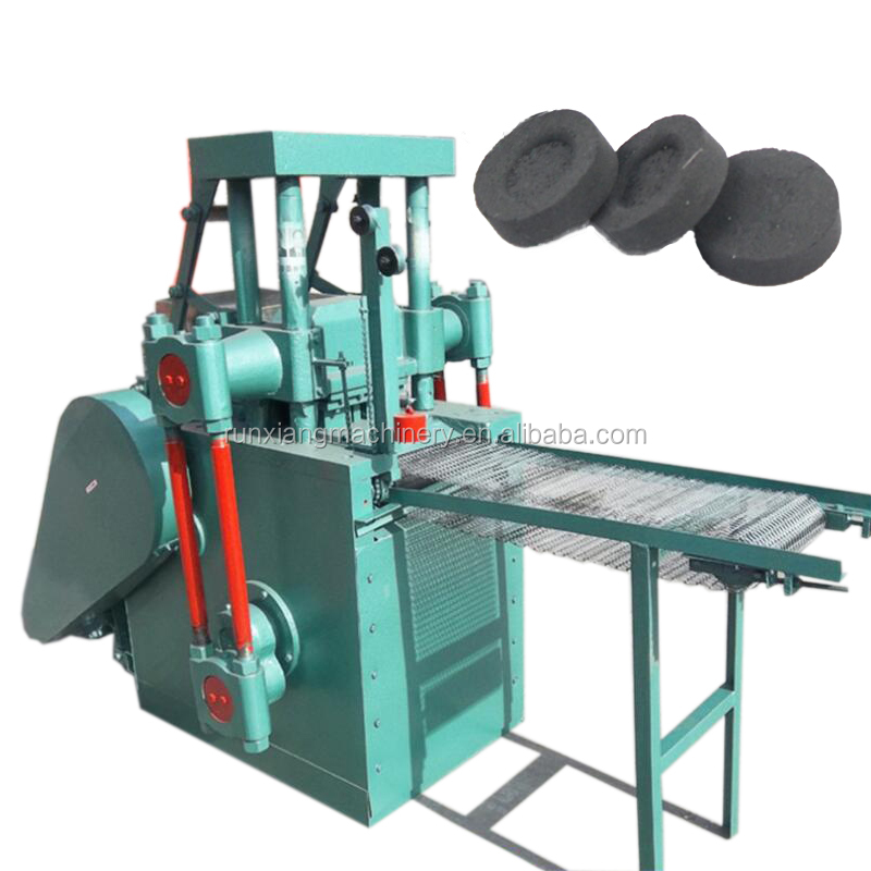 Pillow shaped charcoal briquettes press production line price