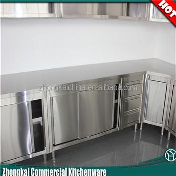 Stainless Steel Kitchen Corner Cabinet
