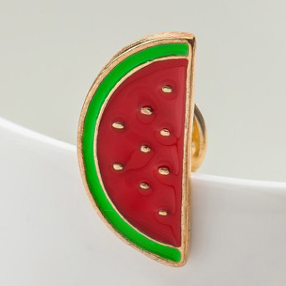 Shirt Collar Pin Brooch Lovely Cute fruit cute cartoon Fruit Lapel ... fe0a88d6f4b0
