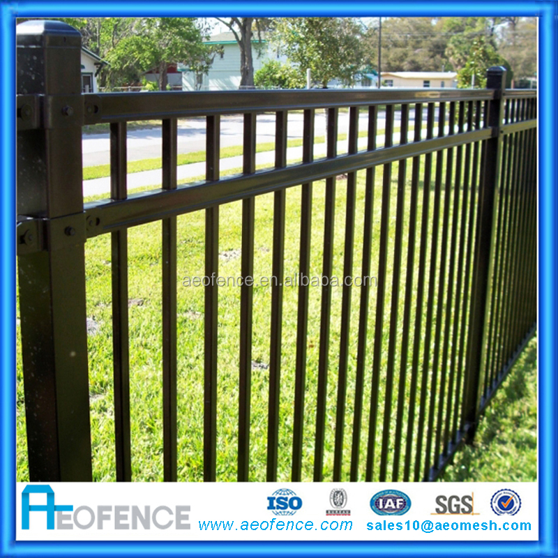 Modern Gate Design European Metal Garden Used Fencing Not