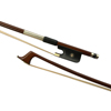 Nickel silver / cooper mounted ebony bow frog Pernambuco Stick Wood Cello Bow