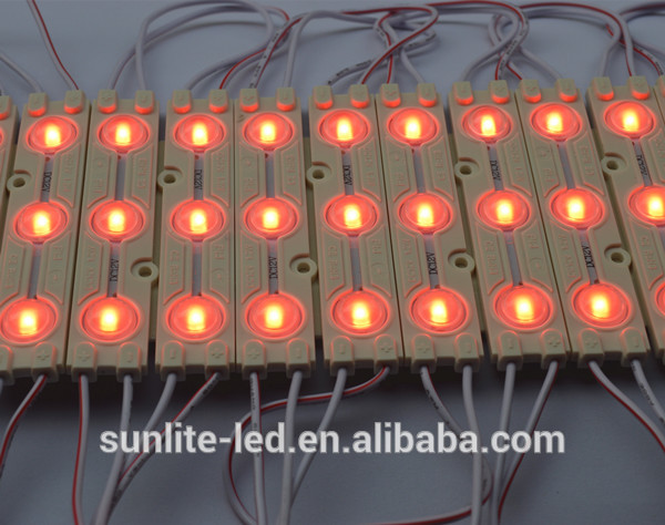 Shenzhen 160 degree high brightness led module outdoor lighting with lens 12V