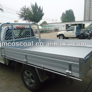 aluminium tray body/truck bed/ute/truck ute with anodizing and brushing