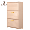 Chinese Home Living Room Furniture Outdoor Storage Plastic Shoe Rack Cabinet