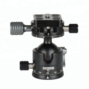 HIGHLIGHTS Camera Tripod Mount Pantilt Double Panoramic Ball Head Factory Wholesale