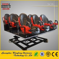 Theme Park Children Game 6 Seats Mini 5D Cinema/SHOPPING MALL 7D INTERACTIVE
