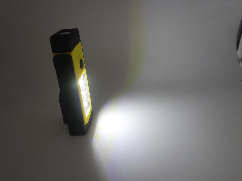 2016 New Design 3SMD+1LED Portable Flashlight Work Light
