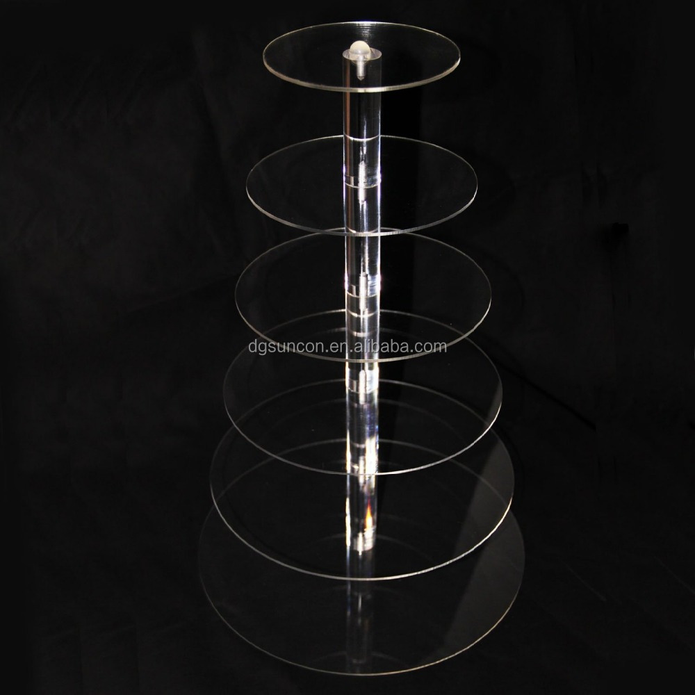 7 Tier /cooking tools/ Beautiful Acrylic Wedding Cupcake Stands Pastry Cake Display Shelf