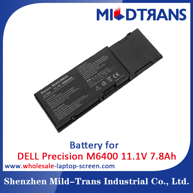 Brand New Genuine Original Laptop Battery For Dell Precision M6400 Notebooks