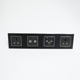 5 star hotel wall mounted media hub with Blue tooth / Electrical wall socket desktop socket