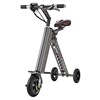 2016 Htomt 3 wheels electric mobility scooter 3 wheel folding mini bike scooter