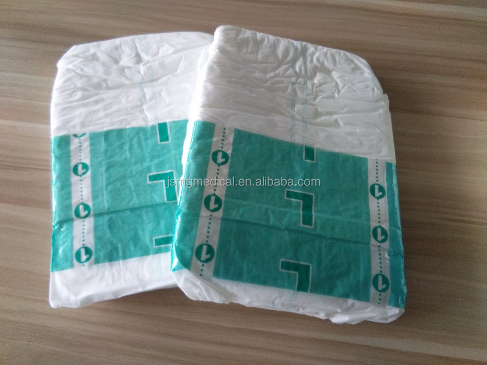 Medical disposable adult diapers for incontinence person
