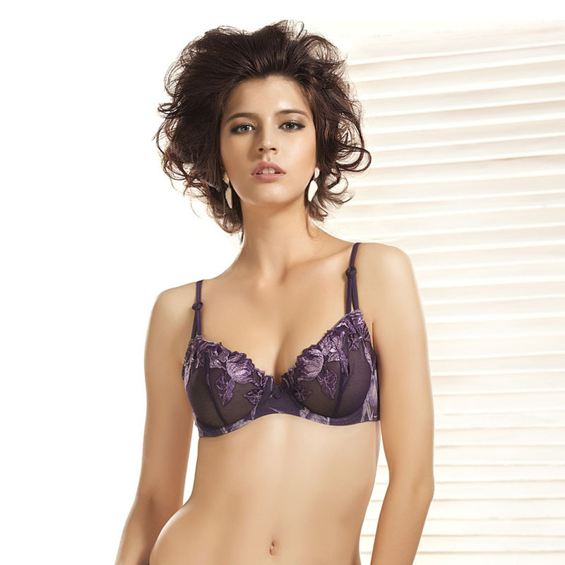 0b35d5a15 Buy summer style france brand elegant ultra thin transparent sutyen  bralette lace lingerie bras women underwear 32b 32c 34b 34c 36b in Cheap  Price on ...