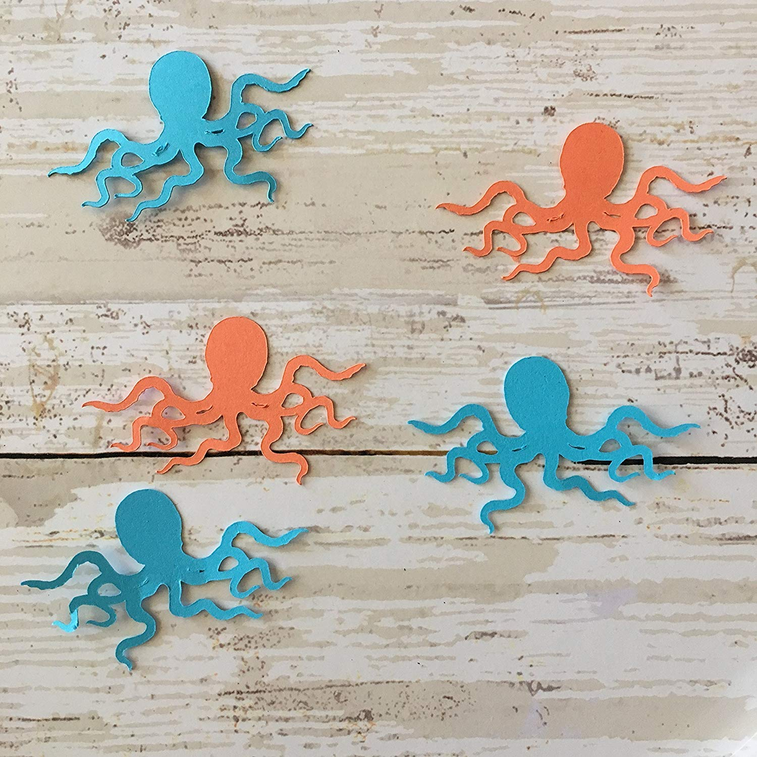 Ocean Party Supplies Table Scatter Animal Party Supplies Beluga Whale Cut Out Whale Cut Outs Ocean Decorations Beluga Whale Confetti Whale Theme