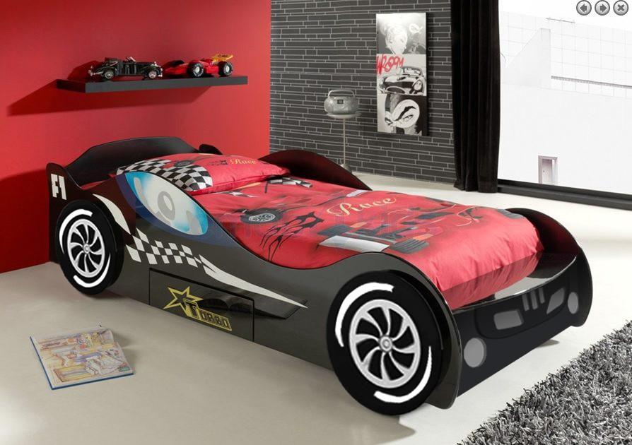 Chico carreras de coche cama conjuntos de muebles para - Cama coche para ninos ...