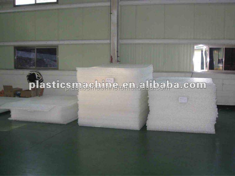Polymer bed mattress machine