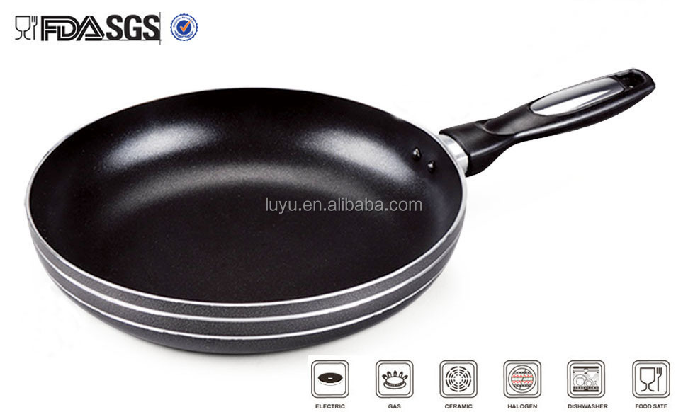 24cm Eco friendly Canton Fair Aluminum non stick fry pan