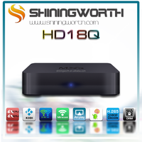 2015 Hot Android Smart TV Box 1G/8G android 4.4 quad core AML S805 H.265 MXQ built-in WIFI 4K