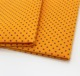 Needle punched nonwoven wipes orange shammy towel with pva dots , resin dots
