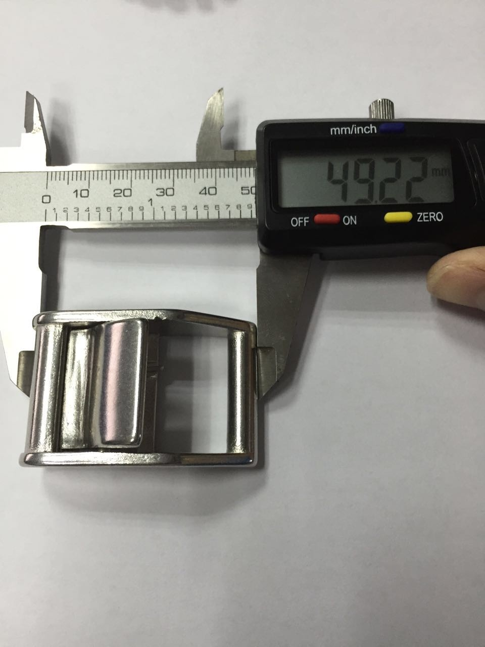 304 25MM Stainless Steel Cam Buckle Belt Buckle