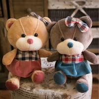 2016 Popular OEM Plush Stuffed Brown Small Teddy Bear
