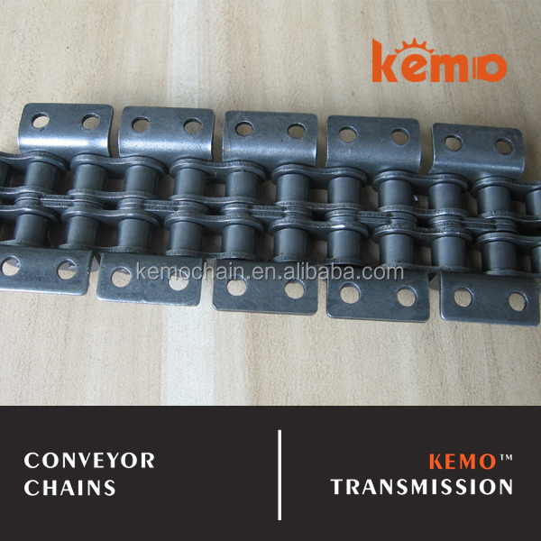 10A ANSI 50 Short pitch with attachment WK-2 conveyor chain