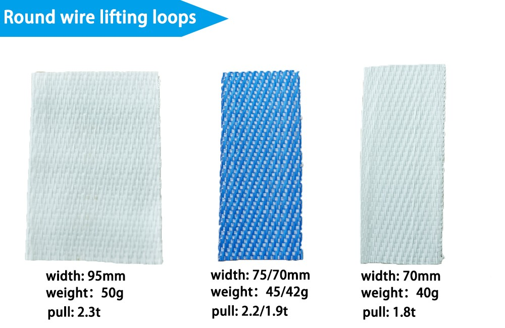 40mm 50mm 70mm pp custom webbing polypropylene handles for jumbo big bag