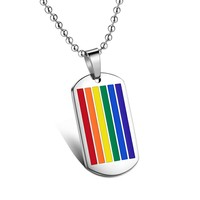 Wholesale Jewelry Manufacturer 316L Stainless Steel Pendant Custom Enamel Pendant