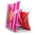 Wholesale Custom Hair Extension Packaging Pillow Box with Ribbon Handle