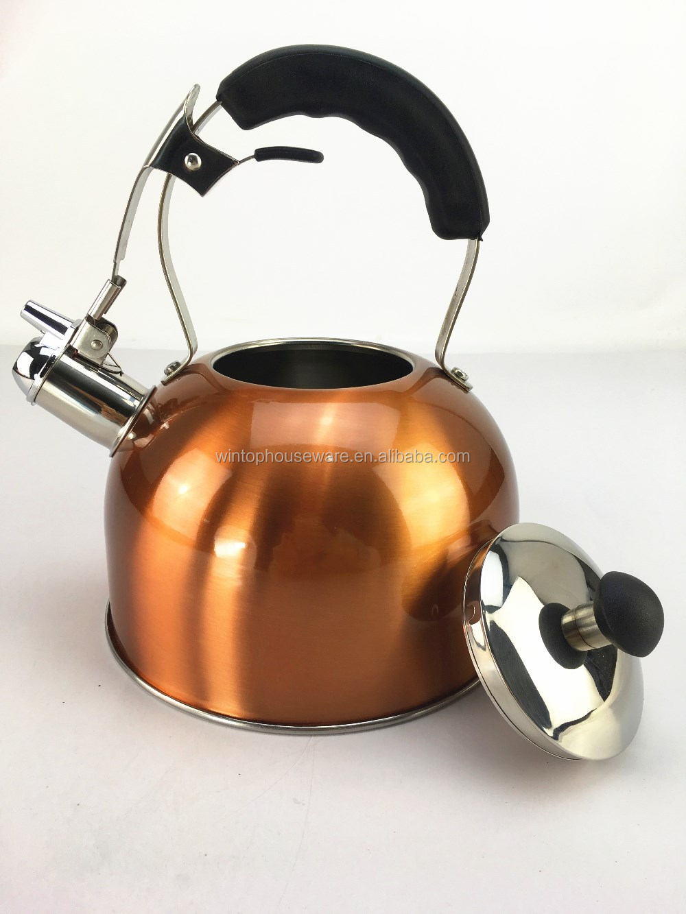 Color Painting 2.7l Stainless Steel Whistling Kettle Non Electric ...