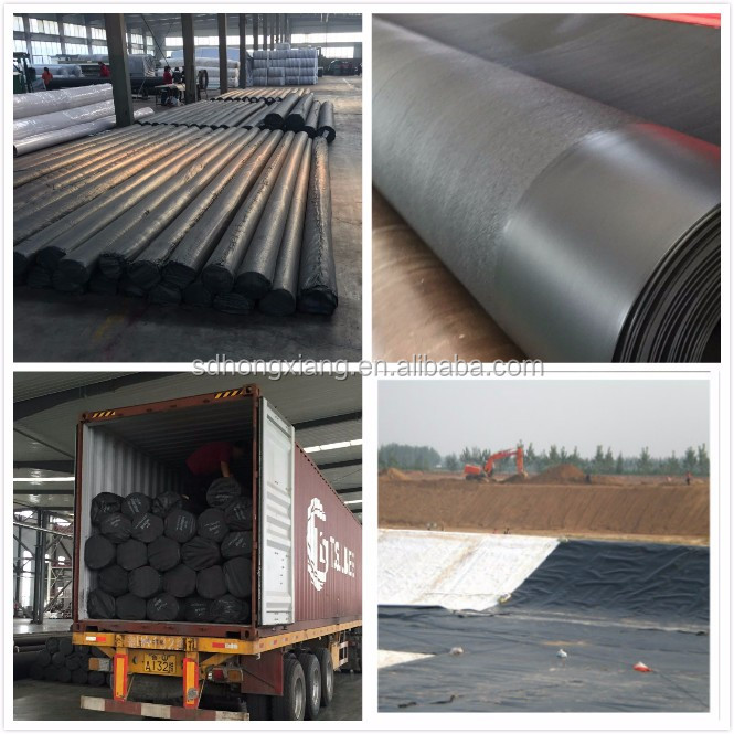Double sides or single side Textured HDPE Geomembrane