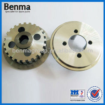 CG125 clutch hub and clutch wheel for motorcycle