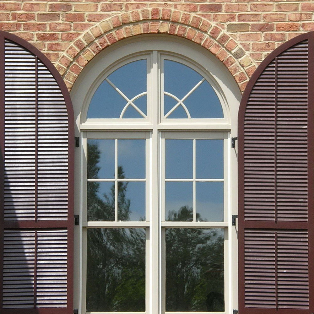 Outdoor Round Plantation Pvc Shutters Buy Round