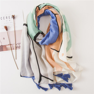 2018 New Arrival Decoration Scarf Women Hijab Cotton Custom Ladies Head Scarf Dubai Hijab