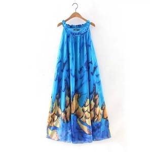 MS68573W halter design women fashion 2016 alibaba dress maxi
