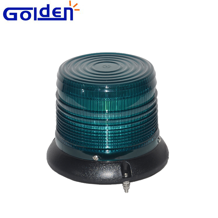Hot sale bolt mount green led strobe warning beacon safety light for emergency vehicle