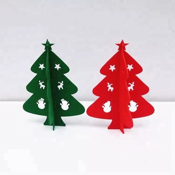 wholesale custom felt cut special shaped accessories christmas tree ornaments - Christmas Tree Ornaments Wholesale