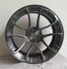 Brush Dark Clear Coat Spoke 3 pcs Forged Car Wheel