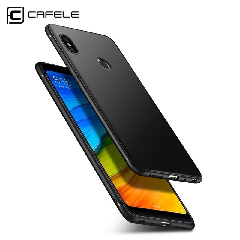 CAFELE Matte TPU Case for Xiaomi Redmi Note 5 Soft Candy Color TPU Cover for Redmi Note 5 Pro note5