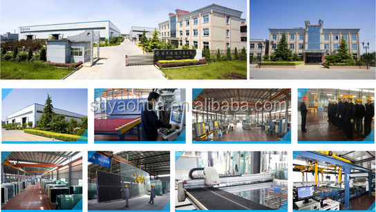 china manufacture 6mm+12a+6mm Insulated Glass for train