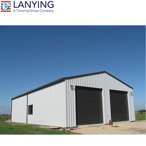 Low cost prefabricated steel structure workshop/storage/ metal frame warehouse