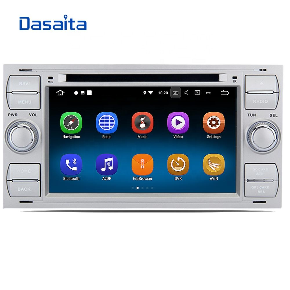 Android 8.1 android multimedia voor Ford Focus S-Max C-Max Galaxy Mondeo 2005 2006 2007 2008 2009 2010 2011 auto dvd radio speler