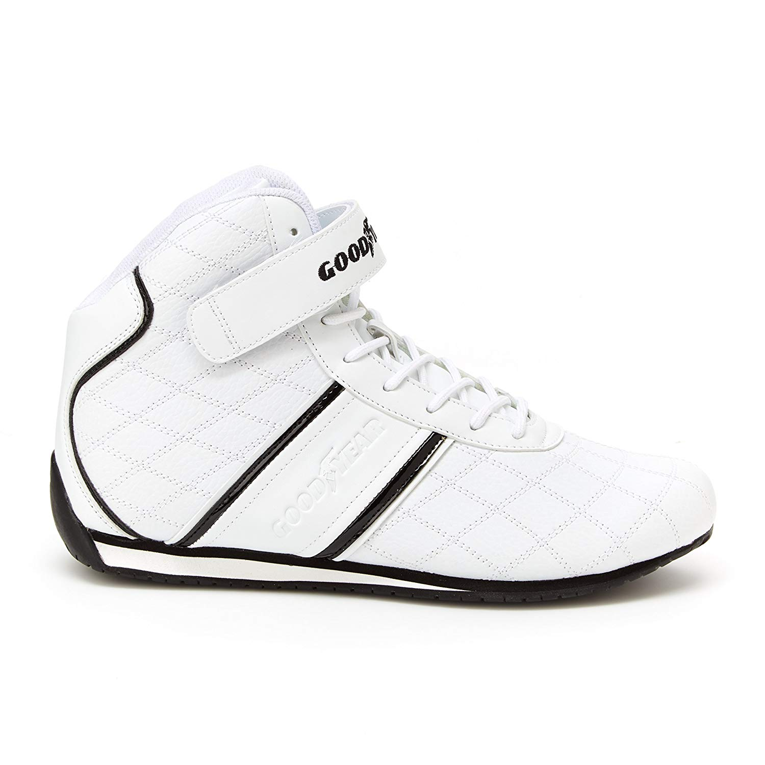 39cd67a509a0 Cheap adidas goodyear sneakers deals. (115320 results). Goodyear Mens  Clutch Racer Sneaker – High-Top Sneakers