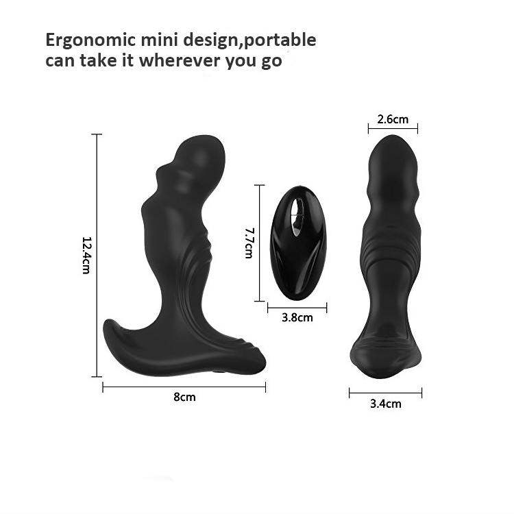 Anal Plug Vibrator Prostate Massager USB Rechargeable Vibrators sex toy for man