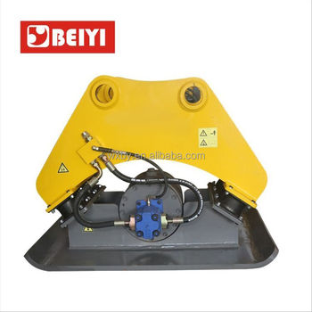 excavator compactor attachment plate compactor hydraulic vibrate compactor of excavator